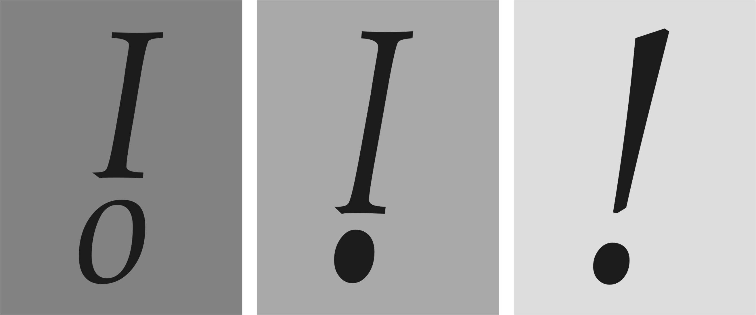 B: Expresividad Tipográfica