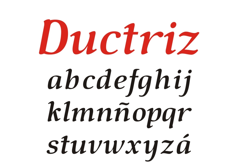 Ductriz_Cursiva