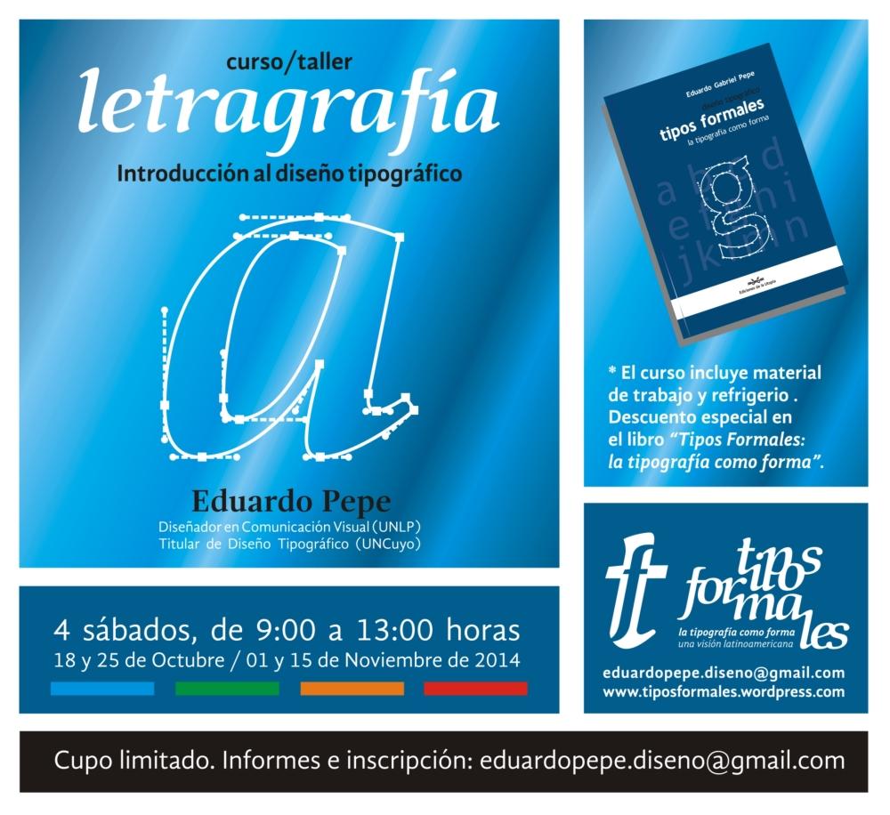 Curso/Taller: Letragrafía (1/2)